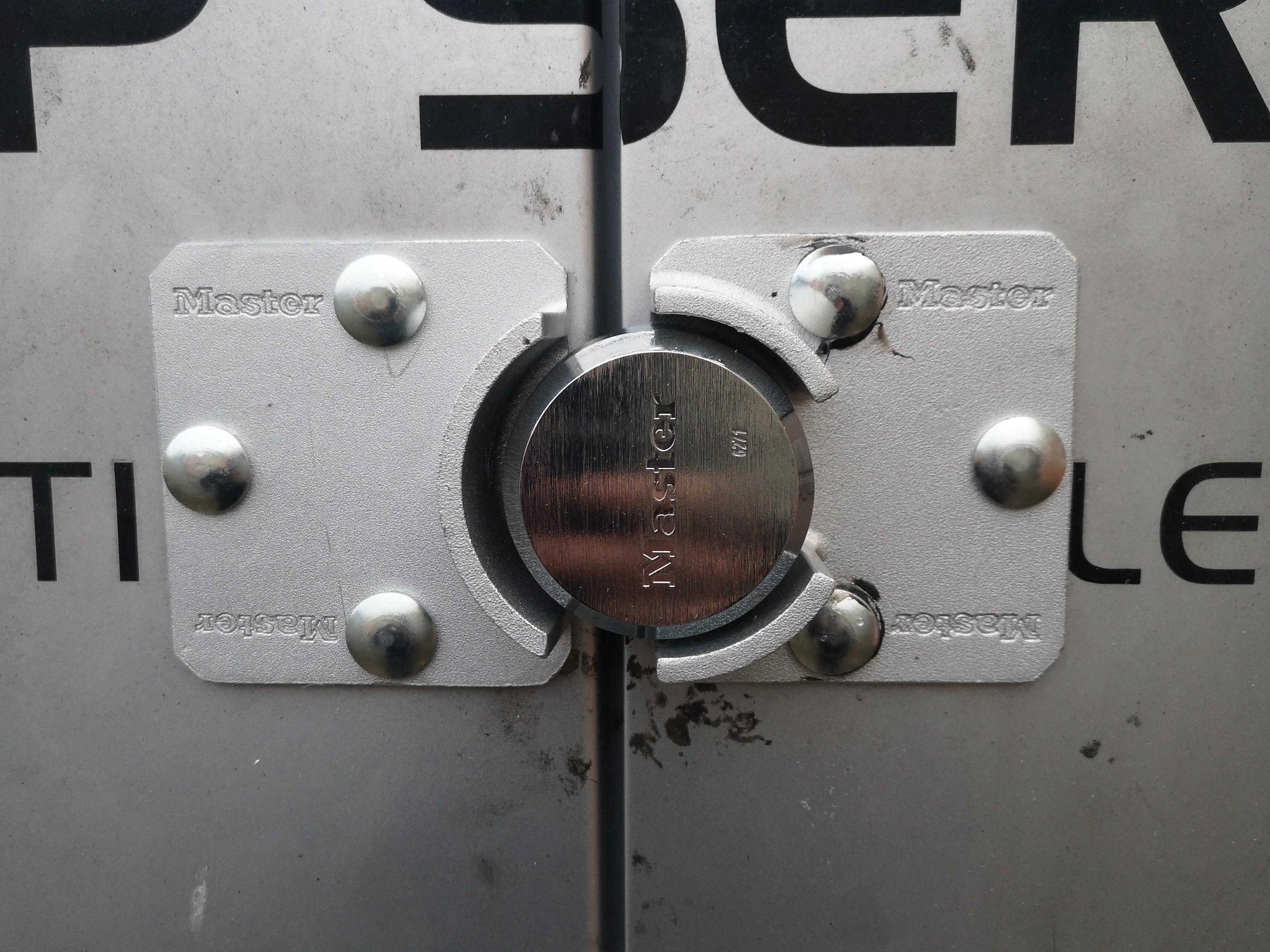 Locks for Vans Maldon